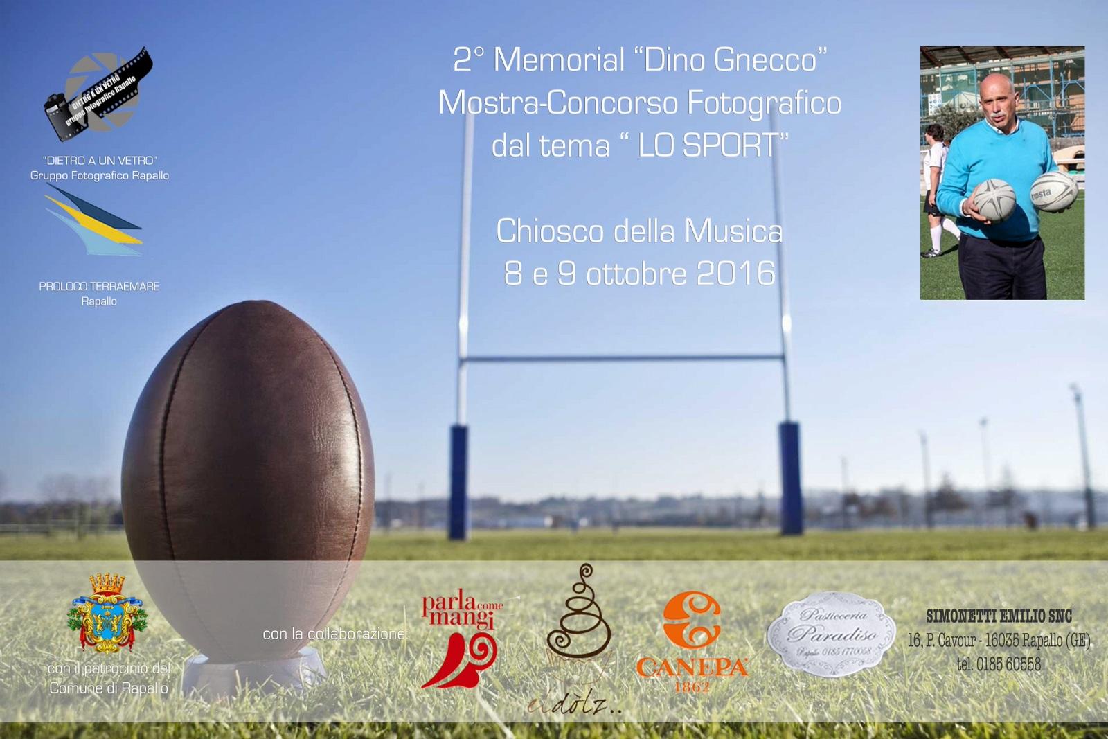 2° Memorial Dino Gnecco, mostra-concorso di fotografia sullo sport. A Rapallo sabato 8 e domenica 9 ottobre al Chiosco della Musica