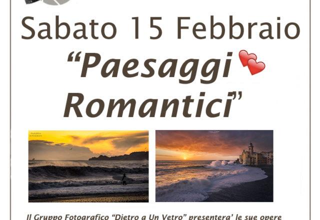 """Mostra """"Paesaggi Romantici"""""""