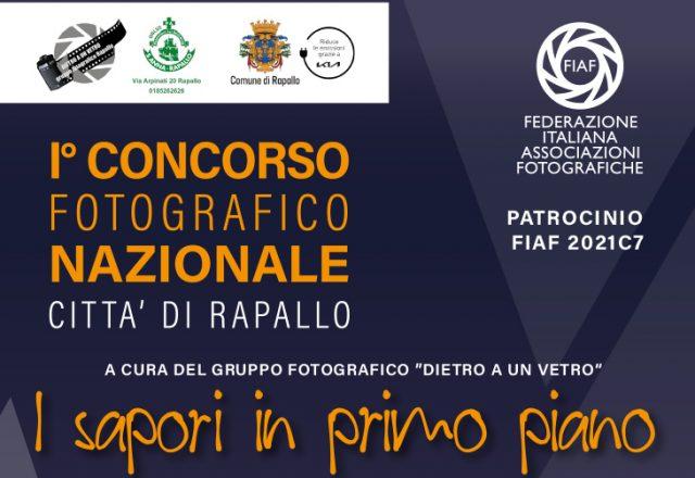 CONCORSO FOTOGRAFICO NAZIONALE CITTA' DI RAPALLO Patrocinio FIAF 2021C7